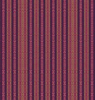 Vue du tissus sur une plus grande échelle (produite par le logiciel ) - Zoom out view of the fabic in the software
