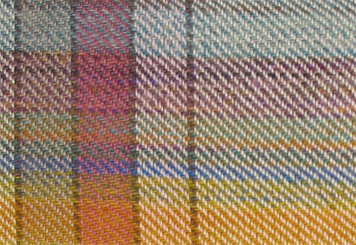 Gros-plan d'échantillon de tissage - Close up of weaving sample